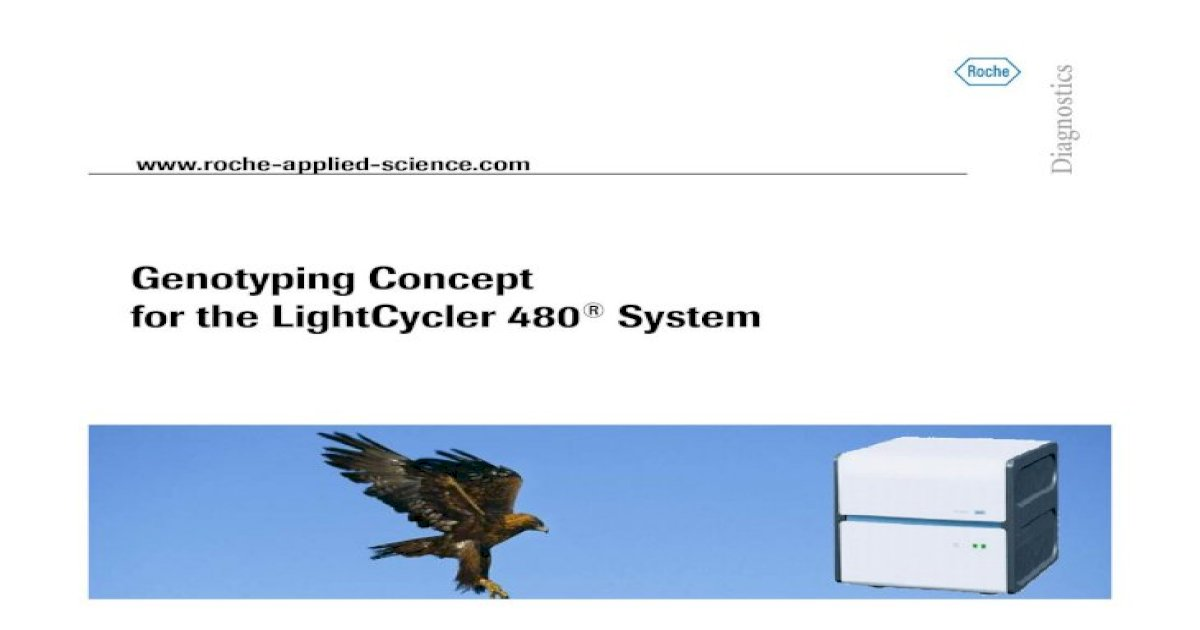 Genotyping Concept For The Lightcycler 480 Concept For The Lightcycler 480 High Throughput Snp Analysis Set B1 P23 Lplh3 C A Set A1 O23 Mdr1 C T Set B2 P24 Adr1 C1 C T Set A2 O24