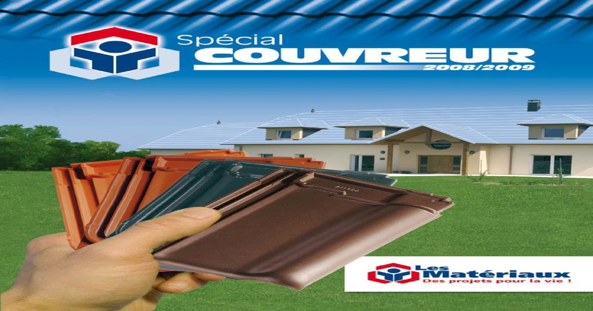 Catalogue Couvreur