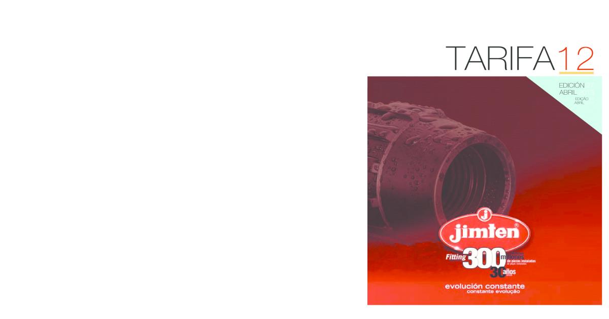 Jimten 31160 Junta c/ónica polietileno 1.1//2x40