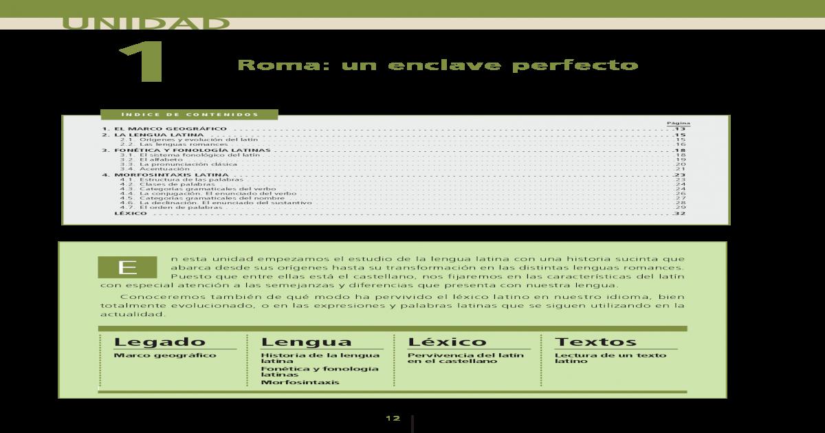 Cideac Latin 1ero