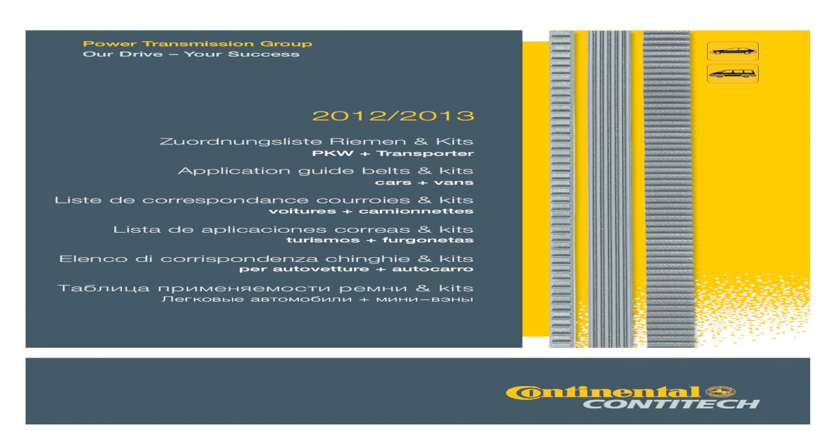 Original Contitech Courroies 6pk1990