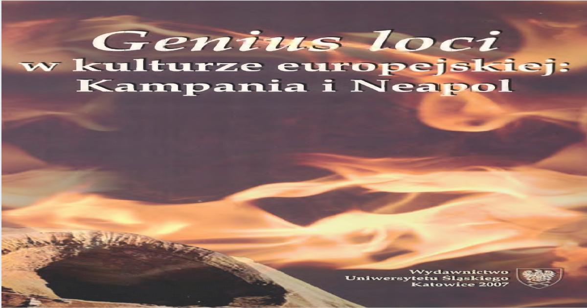 Geniuslociwkulturzeeuropejskiejpdf