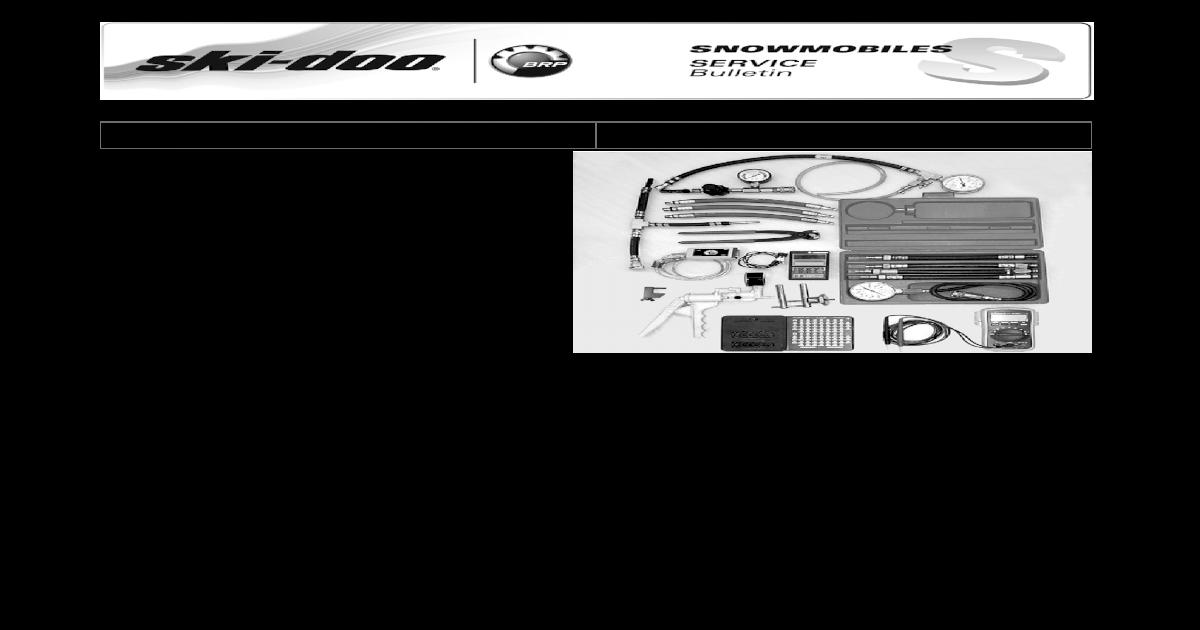 SKI-DOO BEARING REMOVAL TOOL 529036065