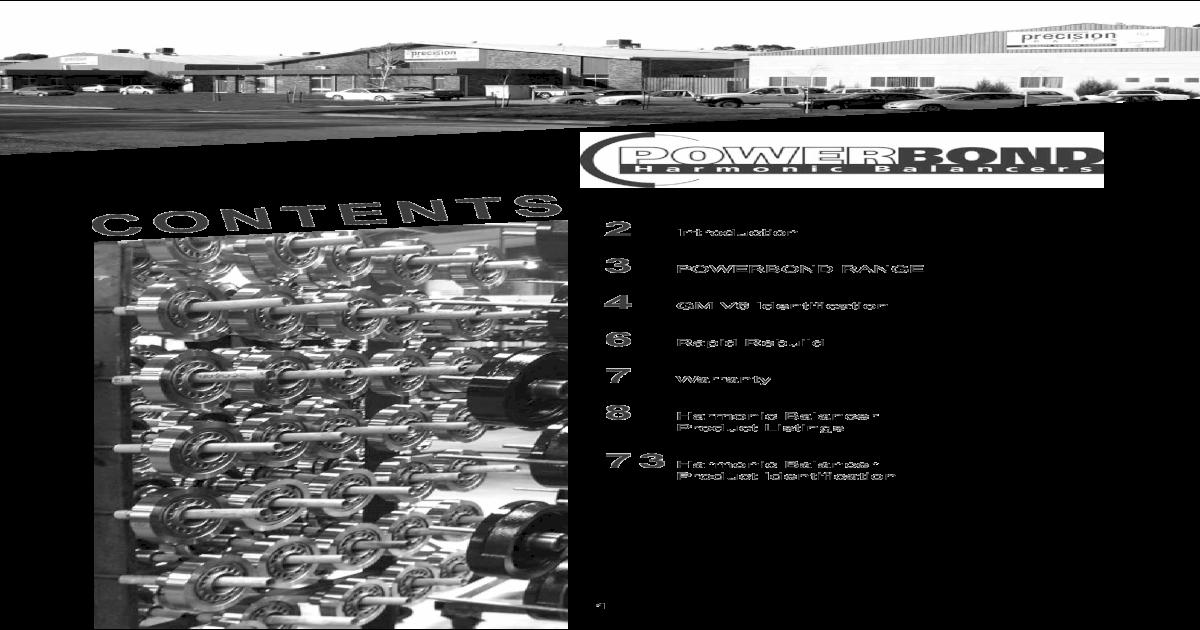 GAS Powerbond PB1046N E Engine Harmonic Balancer-VIN