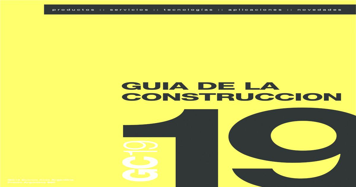 Guia De La Construccion 19