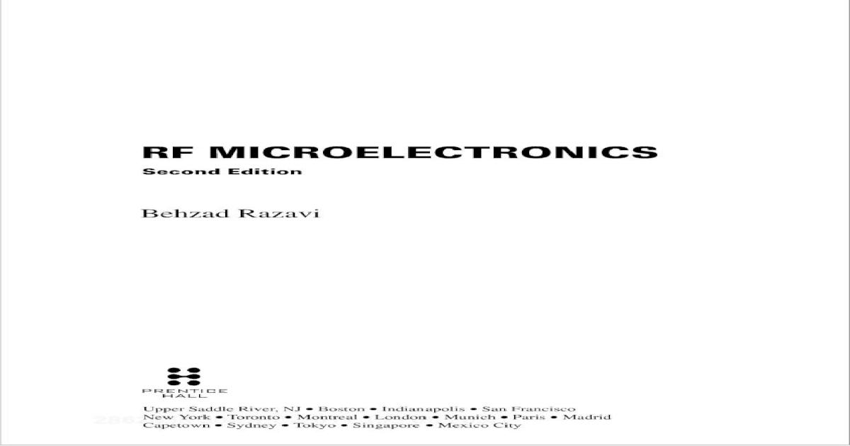rf-microelectronics behzad Razavi 2nd edition (1).pdf