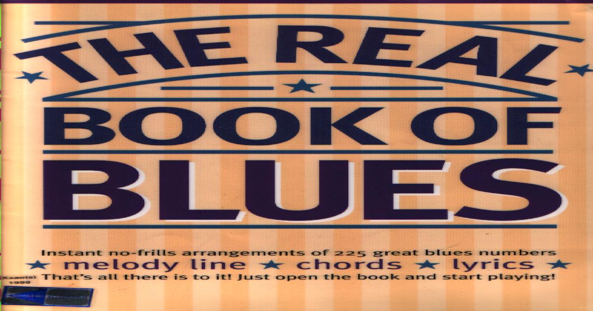Blues Fake Book pdf