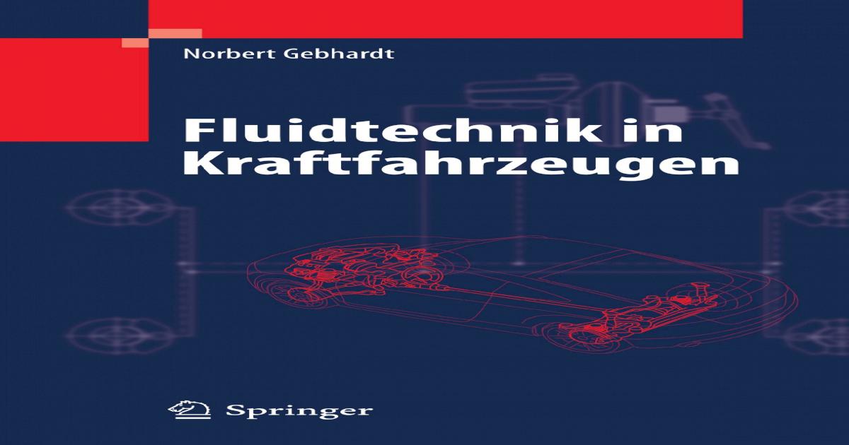 Fluidtechnik in Kraftfahrzeugen ||