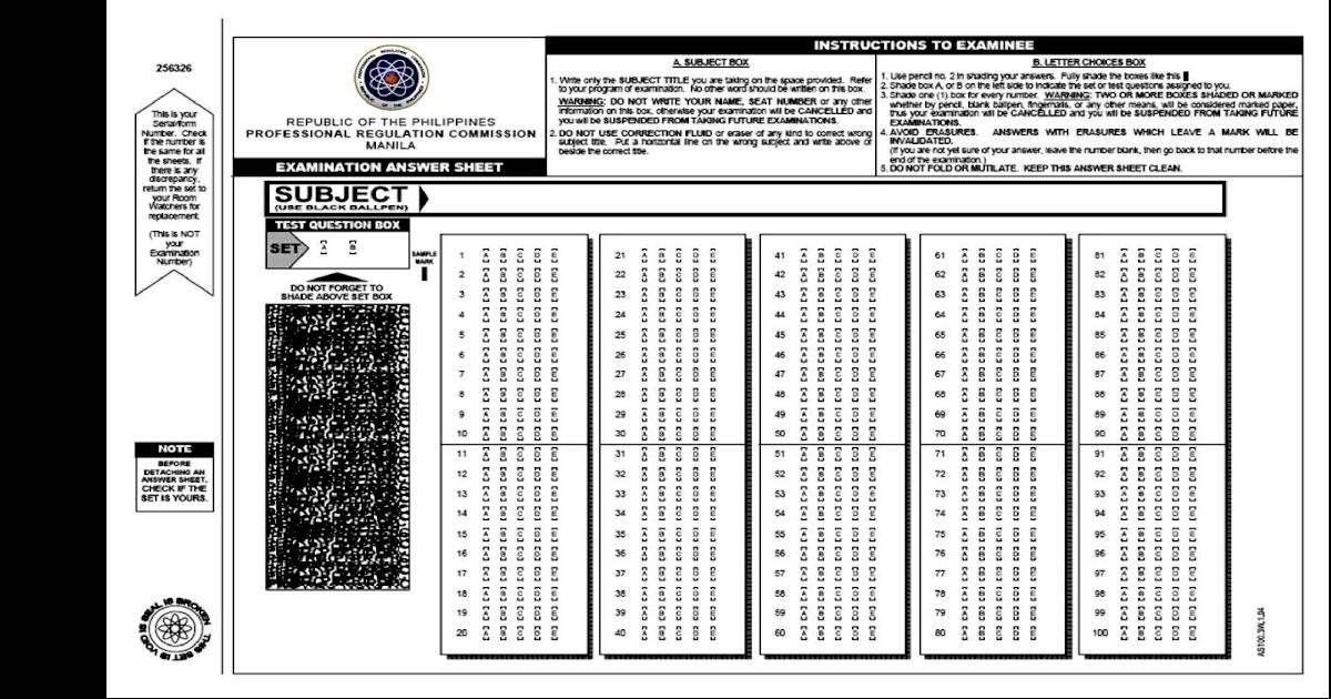 picture regarding Printable Scantron Sheet Pdf titled PRC Resolution Sheet