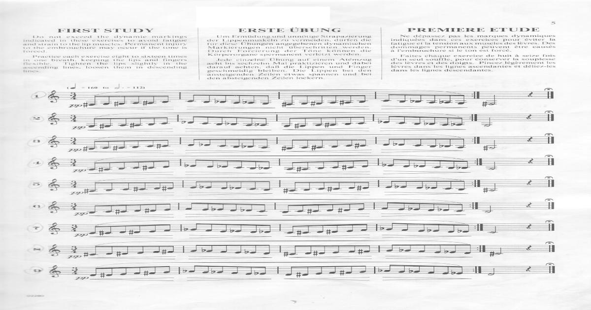 H L Clarke - Technical studies for Trumpet pdf