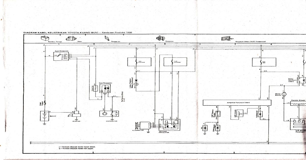 Toyota 5k Wiring Diagram Wiring Diagram General A General A Emilia Fise It