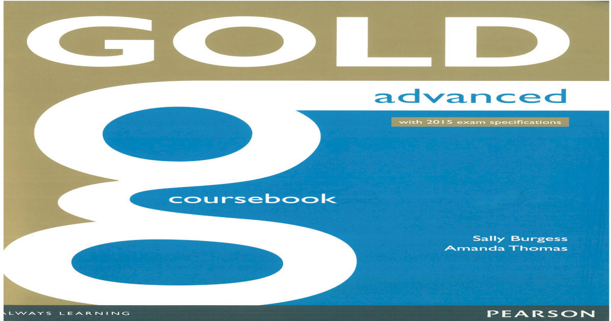 gold advanced coursebook 2021 pdf
