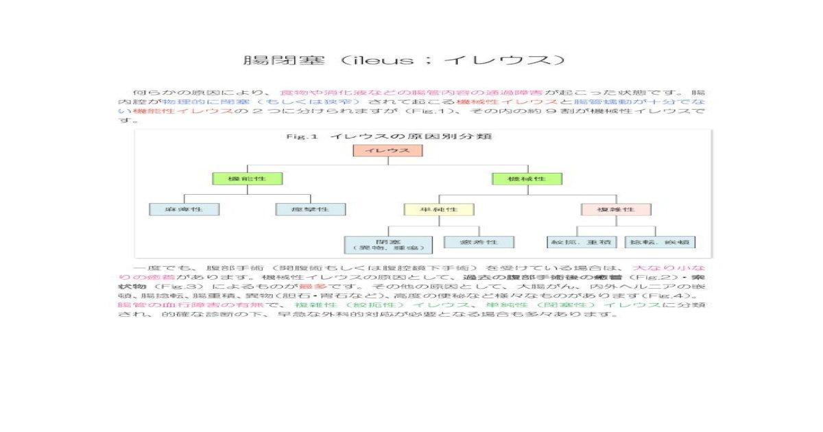 腸閉塞 原因 最多 手術後の癒着や大腸がん腸閉塞の原因はさまざま:朝日新聞デジタル