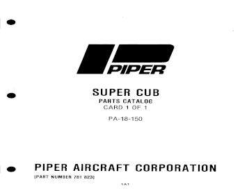 14785-03 Piper PA18 series wing landing light lens 12532-03