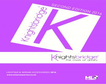 Knightsbridge 240 V IP44 32 A Angle Surface Mount Socket 2P+E x1