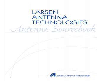 """Larsen SPHS21156 VHF Stubby Antenna 150-162MHz with SMA Female Connector 3.5/"""""""