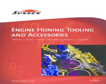 Sunnen  KKN-300 Operations Install Instruct Manaul Power Stroking Attachment