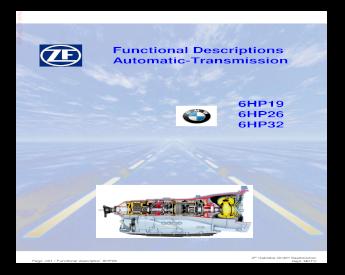 Antriebsteile & Getriebe Getriebe & Teile BMW 6HP19 Automatic ...
