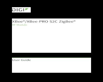 Xbee-Pro S2C Zigbee Module U.Fl Interoperable With Other Zigbee ...
