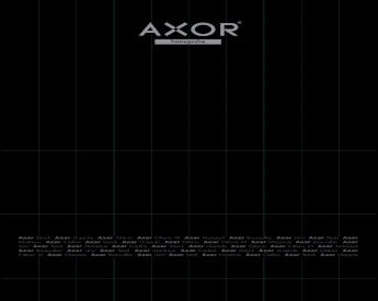 """Axor Steel 12/"""" Towel Bar Hansgrohe 41830800"""