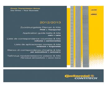 CITROEN XSARA Timing Belt Tensioner 1.4D 1.6D 2003 on INA 082988 082989 96413140