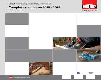 Bessey KF4 3 x 4-1//4-Inch Durable K-Body Steel REVO Clamp