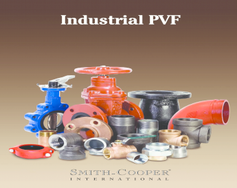 Non-Rising Stem Smith-Cooper International 10FW Series Iron Gate Valve with Hand-Wheel Inline 3 Flanged 3 Flanged 017110FW030