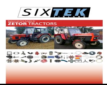 Starter Fits Zetor Ttractors 3320 3321 3340 3341 4320 4321 4340 4341 5211 5213