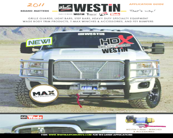 "Westin 25-1325 Black 3/"" Round Bent Signature Nerf Bar for F-Series Regular Cab"