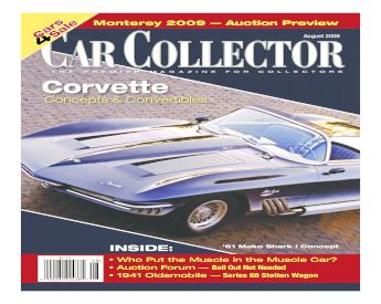USA 1963  1//43 Avenue 43 Chevrolet Corvair Monza GT Prototype argent