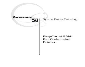 1-206389-01 upper Intermec Easycoder PM4i Paper guide