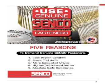 "Lot of 3 x 5000 each Senco M10BABN 18 Gauge 3//8/""-10mm 5//8/""-16mm Finish Staples"