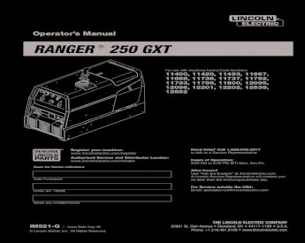 Lincoln Electric 9SM20585-1 CIRCUIT BREAKER
