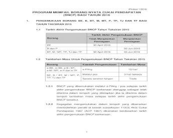 Penyata Saraan Potongan Cukai Pcb Cp 38 Lampiran B
