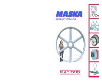 """MASKA PULLEY-10/""""-MB100-1-1//8/"""" BORE-N.O.S.-MADE IN U.S.A.-/""""HEAVY-DUTY/"""" IRON!"""