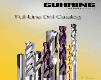 "25//32/"" Heavy Duty Cobalt 135° Notched Point Stub Length Drill USA #600C-25//32"